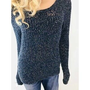URBAN OUTFITTERS Loose Knit Blue Sweater